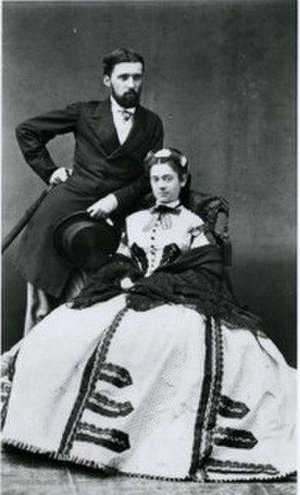 Ogden Codman Jr. - Codman family manuscripts collection. Ogden Codman, Sr. and wife Sarah Bradlee Codman