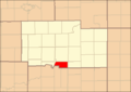 Ogle County Illinois Map Highlighting Taylor Township.png