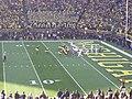 Ohio State vs. Michigan football 2013 16 (Michigan on offense).jpg