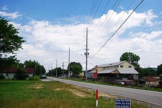 Owens Cross Roads, Alabama - Old Highway 431 in Owens Cross Roads