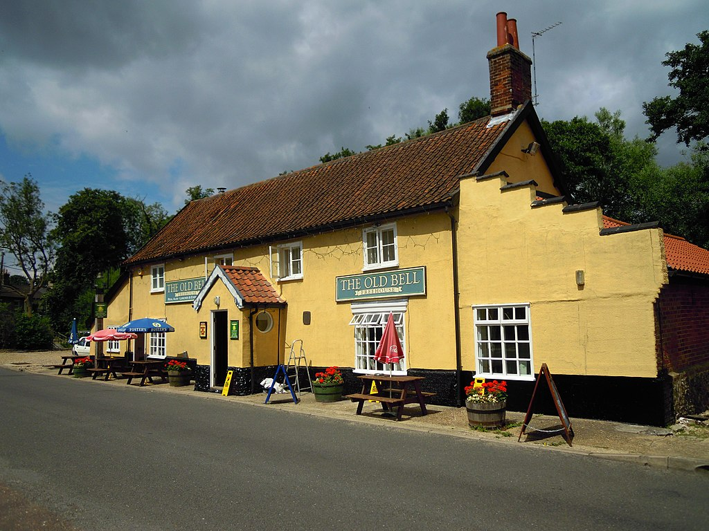 Creative Commons image of The Old Bell in Thetford