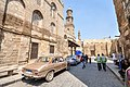 Old Islamic Cairo and an old Peugeot 504 (14792101231).jpg