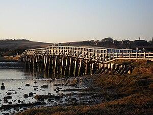 Grade II* listed buildings in West Sussex - Image: Old Shoreham Bridge, Old Shoreham (Io E Code 297270)