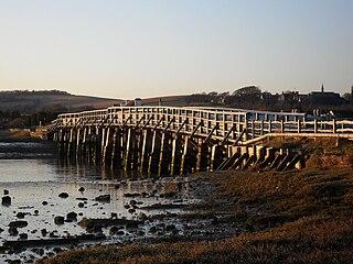 Shoreham Tollbridge bridge in United Kingdom