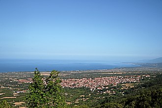 Litochoro - View from Olympus