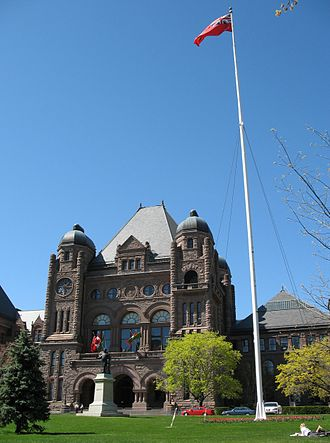 Legislative Assembly of Ontario - The Ontario Legislature and Queen's Park