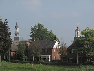 Ootmarsum - Ootmarsum, view to the town