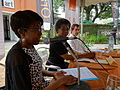 Opening of the Espace WikiAfrica in Douala 08.JPG