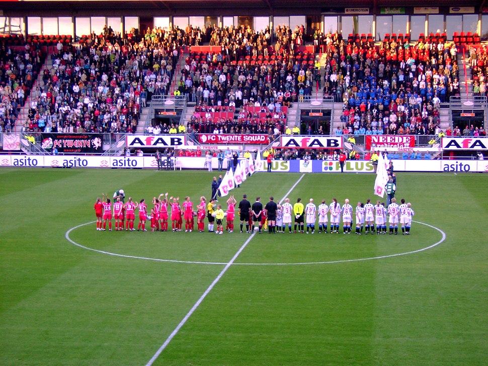 Openingswedstrijd vrouwen Eredivisie