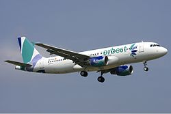 Airbus A320-200 der Orbest Orizonia Airlines