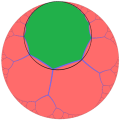Order-3 apeirogonal tiling one cell horocycle.png