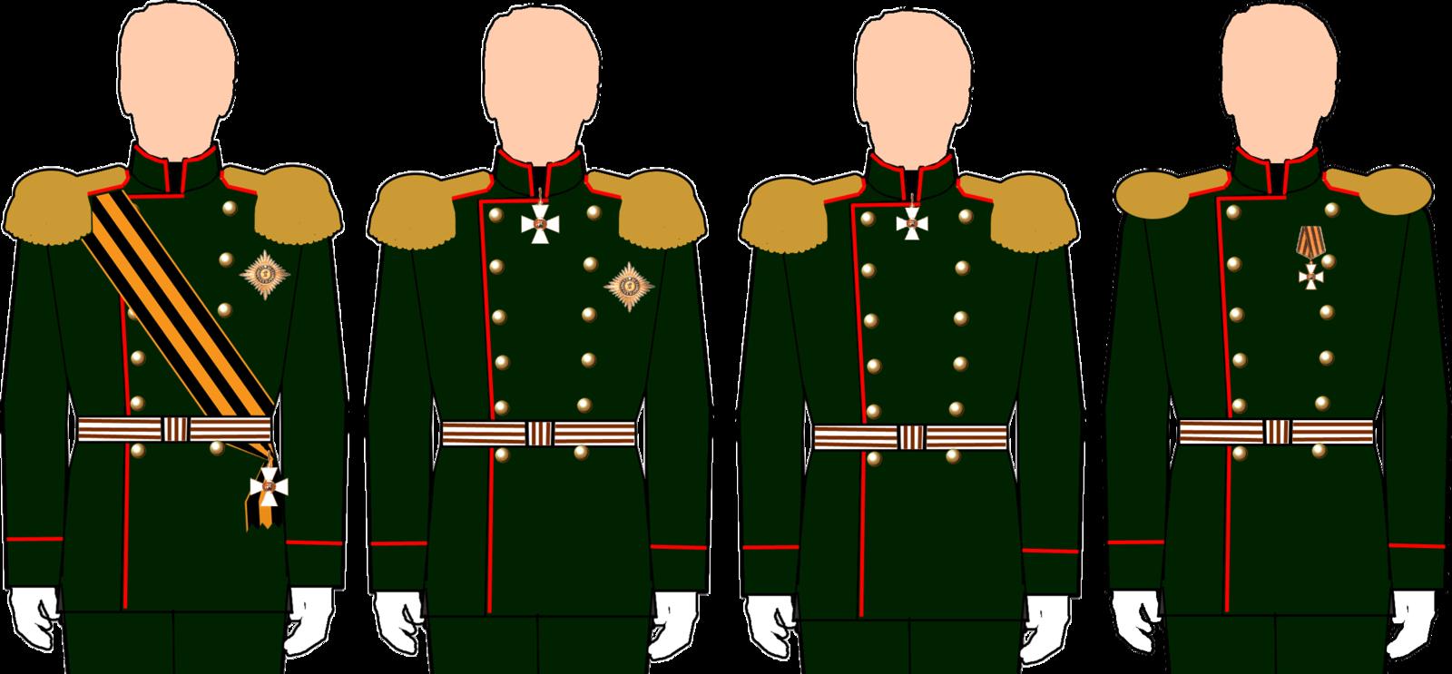 Нижние чины кавалеры ордена святого георгия из осетин