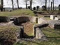 Orrouy (60), ruines gallo-romaines de Champlieu, thermes, tepidarium.jpg