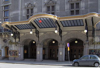 Oscarsteatern building in Stockholm Municipality, Stockholm County, Sweden