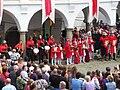 Oslavany, zámek, slavnosti (pážata).jpg