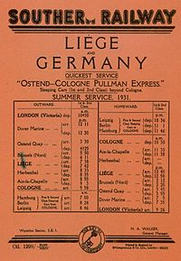 Ostend-Cologne-Pullman, 1931, Southern.jpg