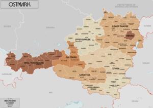 Ostmark (Austria) - Ostmark in 1941