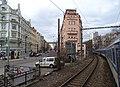 Ostrčilovo náměstí a Jaromírova, pohled z vlaku.jpg