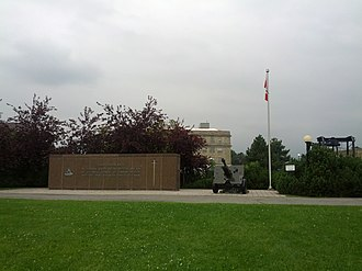 Royal Regiment of Canadian Artillery - Monument to Royal Regiment of Canadian Artillery in Ottawa.