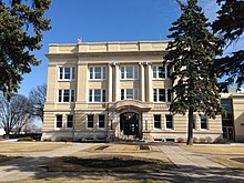 Otter Tail County Courthouse in Fergus Falls.