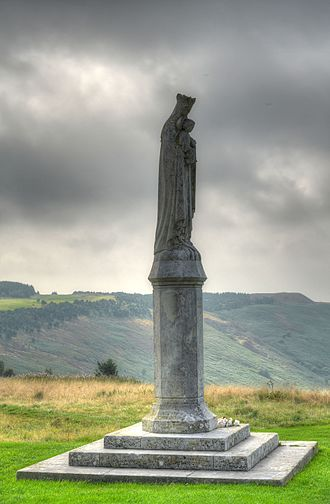 Penrhys - The 1953 statue