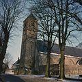 Overzicht zuidwestgevel met kerktoren - Velsen - 20379793 - RCE.jpg