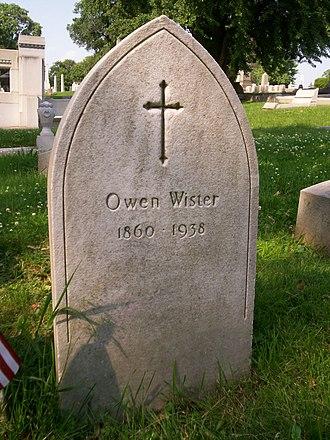 Owen Wister - Grave of Owen Wister, Laurel Hill Cemetery