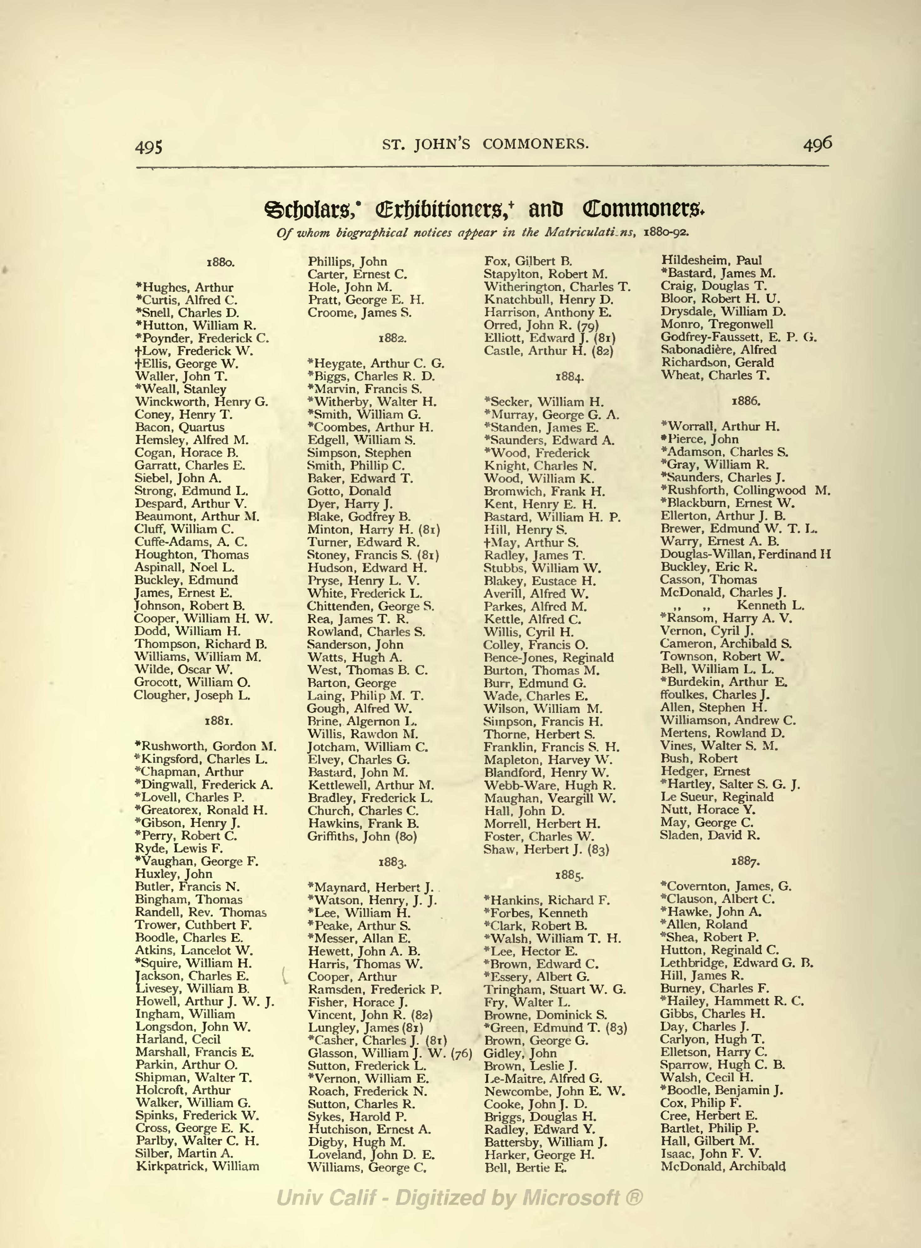 Page Oxford Men And Their Colleges Djvu 398 Wikisource The Free