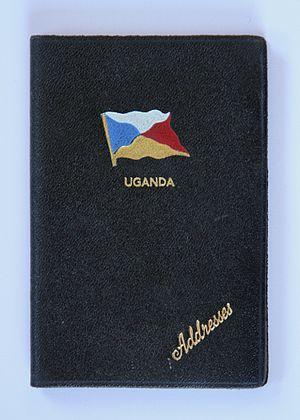 SS Uganda (1952) - Image: P&O Uganda Address Book