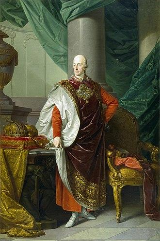 Francis II, Holy Roman Emperor - Francis I as Austrian Emperor, undated, Salzburg Museum.