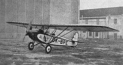 Přikryl-Blecha PB-5 (OK-BPE) a Walter Polaris (1931).jpg