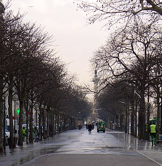 Cours de Vincennes - Image: P1160657 Paris XII cours de Vincennes rwk