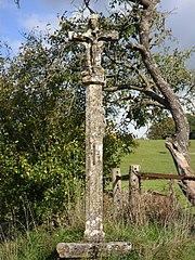 croix de chemin de Courcelles-sous-Châtenois