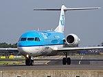 PH-KZV KLM Cityhopper Fokker F70 - cn 11556 taxiing, 25august2013 pic-1.JPG