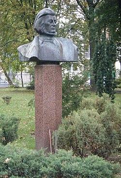 POL Warszawa Saska Mickiewicz monument 02.jpg