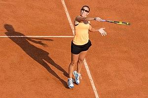 Paula Ormaechea - Paula Ormaechea in May 2012 at the French Open