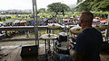 Pacific Fleet Band performs at ceremony in Arawa, Papa New Guinea 150703-N-PZ713-294.jpg