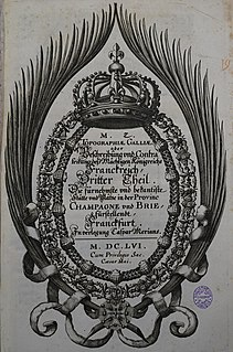 <i>Topographia Galliae</i>