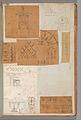 Page from a Scrapbook containing Drawings and Several Prints of Architecture, Interiors, Furniture and Other Objects MET DP372158.jpg