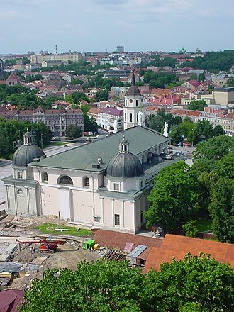 Palace of the Grand Dukes of Lithuania - Palace's site by the summer of 2002