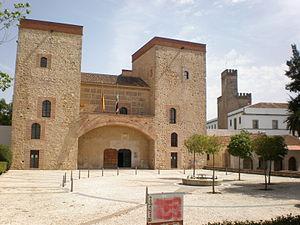 Alcazaba of Badajoz - Palace of the Dukes of Feria.