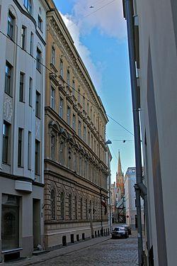Palasta Street in Riga 1.JPG