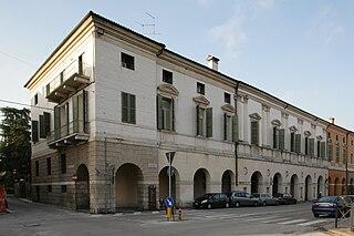 Palazzo Civena palace in Vicenza, Italy