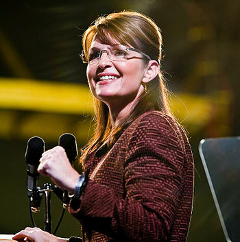 Governor Palin in Dover, New Hampshire on Octo...