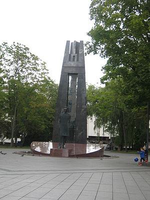 Tautiška giesmė - Monument for Tautiška giesmė