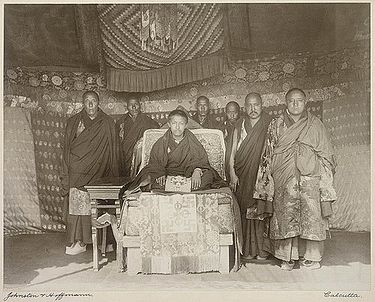 Panchen Lama and entourage in Calcutta, 1906 Panchen Lama and entourage in Calcutta, 1906.jpg