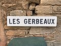 Panneau Gerbeaux Rue Gerbeaux - Solutré-Pouilly (FR71) - 2021-03-02 - 1.jpg