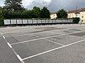 Panneaux électoraux devant l'école primaire de Saint-Maurice-de-Beynost (Européennes 2019).jpg