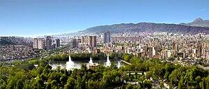 Panorama of Tabriz