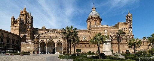 Panoramica Cattedrale di Palermo